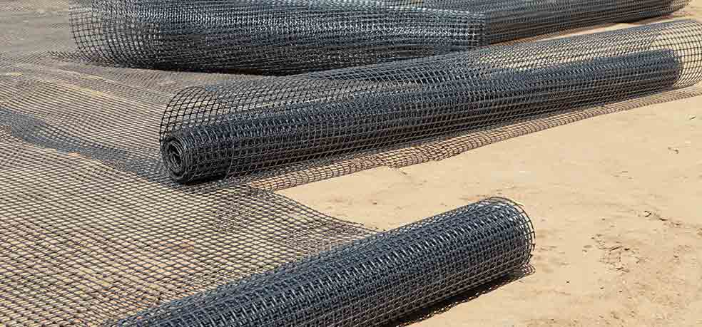Geotextile and geotextile related products